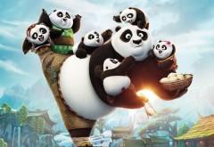 Кунг фу панда широкоформатные обои для рабочего стола