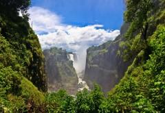Водопад, Виктория, река, Замбези