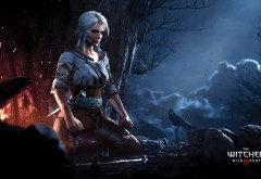 Ciri in The Witcher 3: Wild Hunt wallpaper free 1920x1200