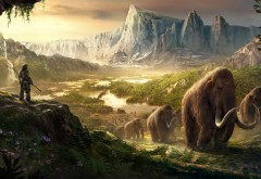 Far Cry Primal, HD, Takkar, Mammoths, мамонты