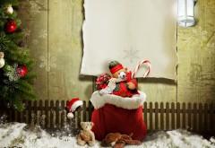 Рождественские подарки, подарок