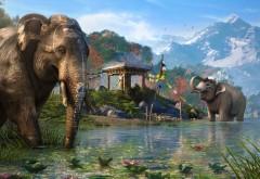 far cry 4 слон заставки компьютерной игры