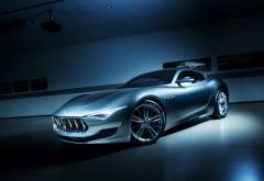 Maserati Alfieri, спорткар, авто, концепт, мазерати