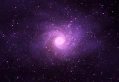 звезды, фиолетовый свет, космос, star, violet lights, cosmos
