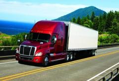 Американский грузовик в пути
