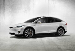 Tesla Model X Concept 2016 HD wallpaper