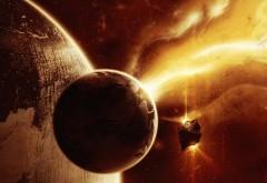 Планета в космосе обои высокого качества