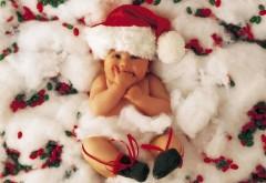 Новогодний малыш ребеночек