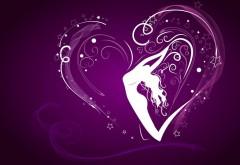 любовь, love, фон, сердце, романтика, девушка