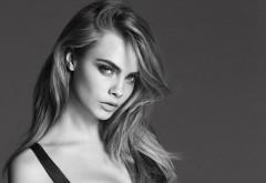 Кара Делевинь, Cara Delevingne, актриса, черно белые фото, знам…
