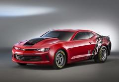 Chevrolet COPO Camaro красный авто обои hd