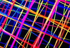 Абстрактные красочные линии фоновые обои hd