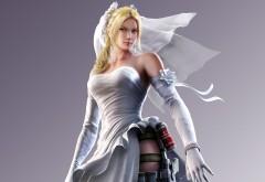 Tekken X, Street Fighter, Nina Williams, компьютерная игра, файтинг