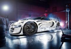 Bugatti, Veyron, Super Cars, суперкар, бугати, вейрон