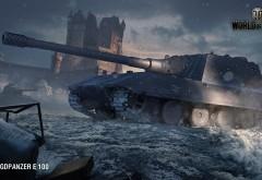 Jagdpanzer E 100, World of Tanks, мир танков, ГОДЗИЛЛА, танк