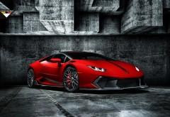 Rosso Mars Novara Edizione Lamborghini Huracan обои hd