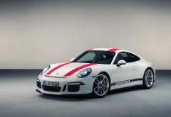 2017 Porsche 911 R спортивный автомобиль обои скачать