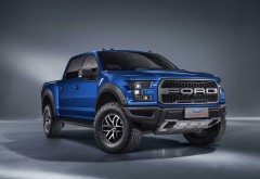 Внедорожник 2017 Ford F-150 Raptor SuperCrew обои HD