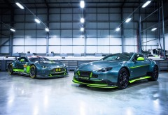 Aston Martin Vantage GT8 обои скачать HD