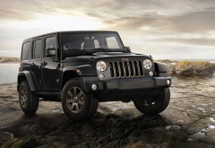 2016 Jeep Wrangler 75th Anniversary Model HD обои скачать