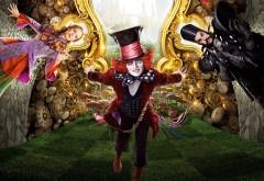 Алиса в Зазеркалье постер hd обои скачать