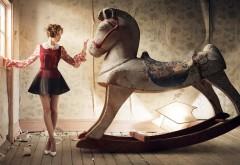 Элисон Бри, сказка, игрушечный конь, сказка, балерина, п…