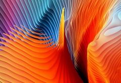 Абстрактные волны обои скачать