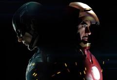 Железный человек, капитан Америка, Первый мститель, фильм