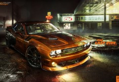 Dodge Challenger RT, Додж Чарджер, спорткар
