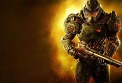 Doom, компьютерная игра, шутер, дум, игра, картинки, обои