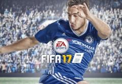 Эден Азар игра ФИФА 17 обои HD