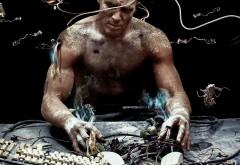 Cyberpunk, киберпанк, качек, опыты, опыт, мужик, игра обои