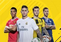 FIFA 17, Хамес Родригес, Эден Азар, Антони Марсьяль, Марко �…