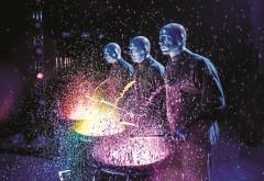 Blue Man Group, синие инопланетяне, перформанс-группа, музыка обои