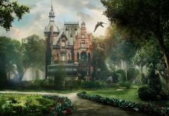 красивая фантазия дом мечты обои hd