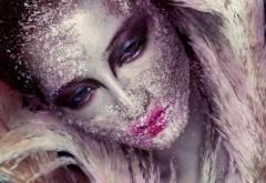 красивый макияж, девушка лицо, искусства