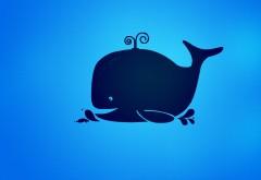 синий кит картинки для детей на рабочий стол