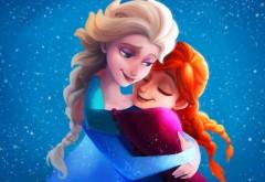 Холодное сердце, сестры, Эльза, Анна, сказка, мультфиль�…