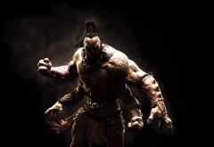 Горо, Mortal Kombat, мортал комбат, боец, игра, фэнтези, кулак �…
