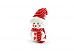 Снеговик, улыбка, белый, фон, snowman, christmas, outfit, Рождествен…
