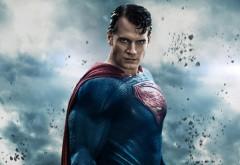 прическа, взгляд, небо, костюм, henry cavill, superman, Человек из …