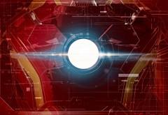 Железный человек, Арк, свет, грудь, сияние, энергия, обо�…