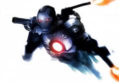 Железный человек, HD, фанарт, iron man, фон, фото, картинки