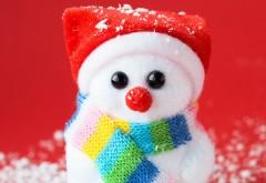cute, snowman, милый, снеговик, снеговичок, красный нос, новый…