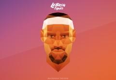 LeBron James, NBA, голова, лицо, спортсмен, Леброн Джеймс, баскетболист, Кливленд Кавальерс, НБА обои