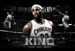 Спортсмен, король, Леброн Джеймс, баскетболист, НБА, Кл�…