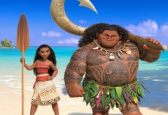 hd обои, моана, moana, мультфильм, дисней, Моана Ваялики, Мауи