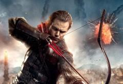 HD обои, Мэтт Дэймон, Matt Damon, Великая стена, лук, стрелы