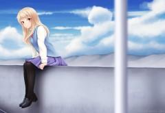 Маширо Шина, Mashiro Shiina, персонаж, аниме,HD обои, манга, 椎名ましろ