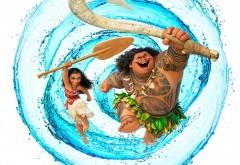 широкоформатные обои, моана, moana, мультфильм, Disney, волна…